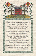 Irish Sampler - Cross Stitch Pattern