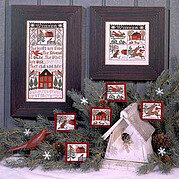 Winter Wind - Cross Stitch Pattern