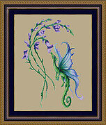 Little Snap Dragon - Cross Stitch Pattern
