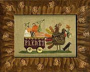 Delivering Plenty - Cross Stitch Pattern
