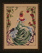 Lady of the Mist - Mirabilia Cross Stitch Pattern