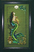 Mermaid of Atlantis - Mirabilia Cross Stitch Pattern