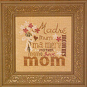 Love You Mom - Cross Stitch Pattern