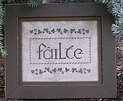Failte (Welcome) - Cross Stitch Pattern