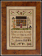 Acorn Hill - Cross Stitch Pattern