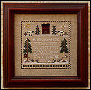 Winter Whites - Cross Stitch Pattern