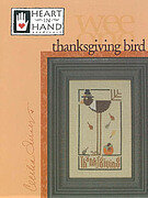 Thanksgiving Bird - Cross Stitch Pattern