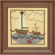 Snappers Red Thread  - Ocean Voyage - Cross Stitch Pattern