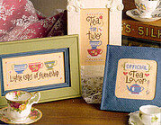 Tea Crazy - Cross Stitch Pattern