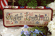 Scatter Freedom - Cross Stitch Pattern