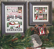 December - Cross Stitch Pattern