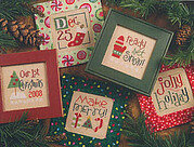 Tiny Tidings XIII - Cross Stitch Pattern