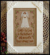 Angels Sang, The - Cross Stitch Pattern