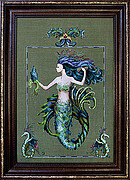 Bluebeard's Princess Mirabella - Mirabilia Cross Stitch