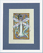 Letters From Nora - I - Cross Stitch Pattern