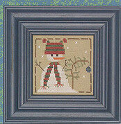 Bernard (Wee One) - Cross Stitch Pattern