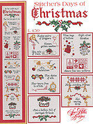 Stitcher's Days Of Christmas - Cross Stitch Pattern