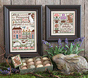 April - Cross Stitch Pattern