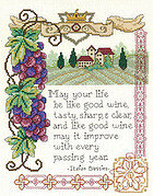 Italian Blessing - Cross Stitch Pattern