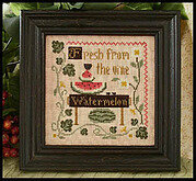 Fresh Watermelon - Cross Stitch Pattern