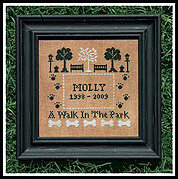 Walk In The Park, A - Cross Stitch Pattern
