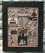 Christmas at Hawk Run Hollow - Cross Stitch Pattern