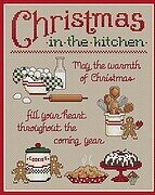 Christmas In The Kitchen - Cross Stitch Pattern