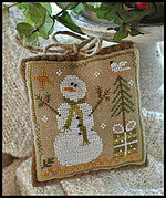 Ornament 8 - Frosty Flakes - Cross Stitch Pattern