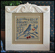 Singing The Blues - Cross Stitch Pattern