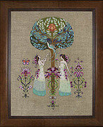 Tree of Hope - Mirabilia Cross Stitch Pattern