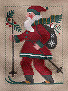 2010 Schooler Santa - Cross Stitch Pattern