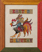 Easter Delivery - Cross Stitch Pattern