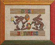Dust Bunnies - Cross Stitch Pattern