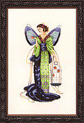 September Sapphire Fairy - Mirabilia Cross Stitch Pattern