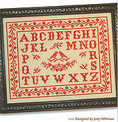 Birds & Berries Antique Alphabet - Cross Stitch Pattern