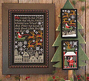 Santa's Night - Cross Stitch Pattern