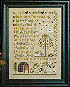 12 Days of Christmas - Cross Stitch Pattern