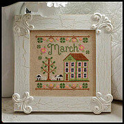 Cottage of the Month March - Cross Stitch Pattern