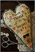 Stitcher's Heart, A (Nashville 2012) - Cross Stitch Pattern