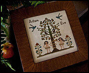 Adam and Eve - Cross Stitch Pattern