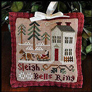 Sleigh Bells Ring - Cross Stitch Pattern