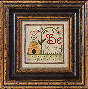 Pattern of the Month - Be Kind - Cross Stitch Pattern