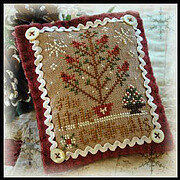 2012 Ornament 6 Six Little Cardinals - Cross Stitch Pattern