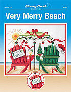 Very Merry Beach - Cross Stitch Pattern
