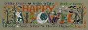 Halloween Happiness - Cross Stitch Pattern