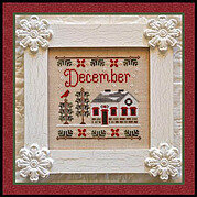 Cottage of the Month December - Cross Stitch Pattern