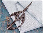 Bronze Butterfly Embroidery Scissors