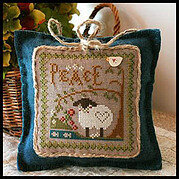 Peace - Little Sheep Virtues - Cross Stitch Pattern