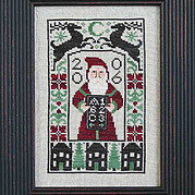 Dear Santa - 2006 Santa - Cross Stitch Pattern
