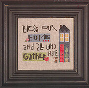 Bless Our Home - Cross Stitch Pattern